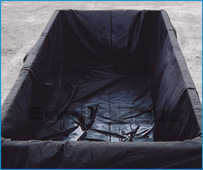 filter box liners for dewatering of municipal septic sludge